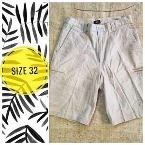 MOSSIMO MEN'S Linen shorts - size 32
